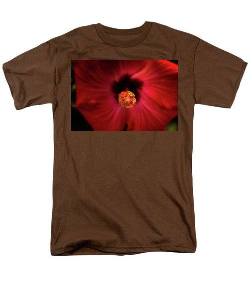 Hibiscus Men's T-Shirt  (Regular Fit) by Jay Stockhaus