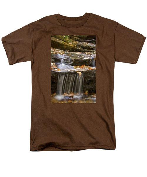 Hidden Falls Detail Men's T-Shirt  (Regular Fit) by Bob Decker