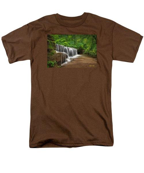Hidden Falls  Men's T-Shirt  (Regular Fit) by Rikk Flohr