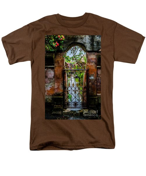 Bali Gate Men's T-Shirt  (Regular Fit) by M G Whittingham