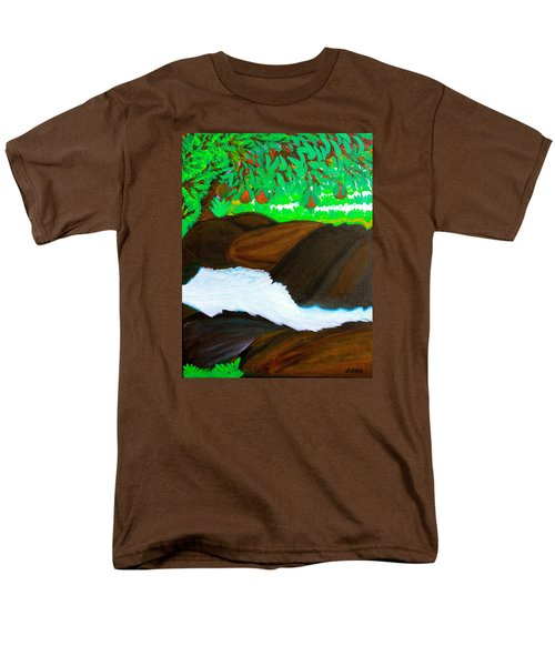 Hidden Paradise Men's T-Shirt  (Regular Fit) by Lorna Maza