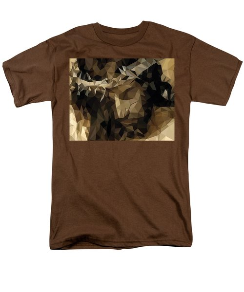 Men's T-Shirt  (Regular Fit) featuring the digital art Hidden With Christ by Karen Showell
