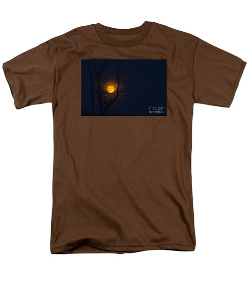 Highland Moon  Men's T-Shirt  (Regular Fit) by Thomas R Fletcher