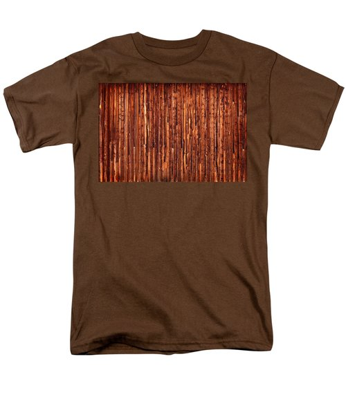 Historic Barnside Grand Tetons Men's T-Shirt  (Regular Fit) by Steve Gadomski