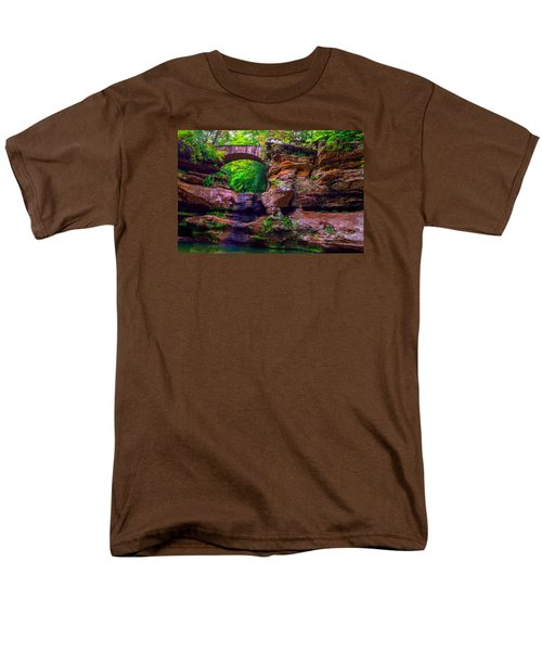 Men's T-Shirt  (Regular Fit) featuring the photograph Hocking Hills State Park 5 by Brian Stevens