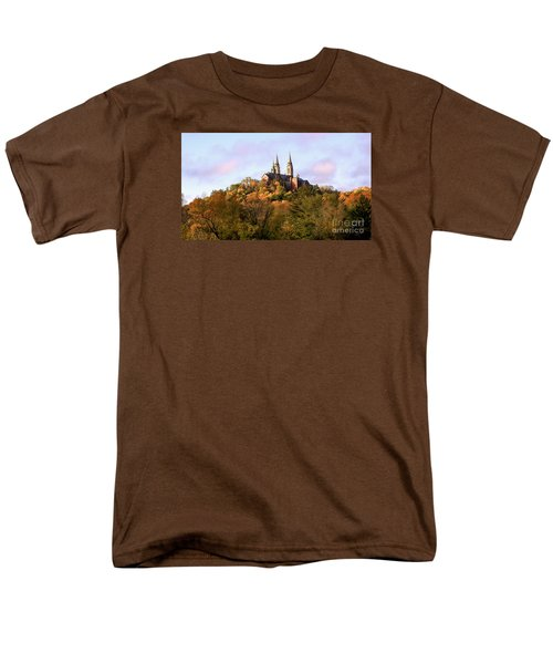 Holy Hill Basilica, National Shrine Of Mary Men's T-Shirt  (Regular Fit) by Ricky L Jones