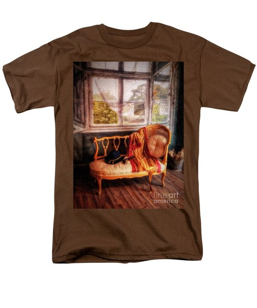 Home  At Last ... Men's T-Shirt  (Regular Fit) by Chuck Caramella