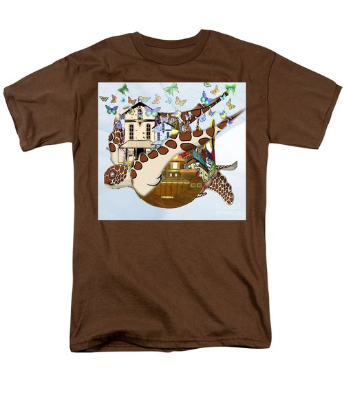 Home Within Home Men's T-Shirt  (Regular Fit) by Belinda Threeths