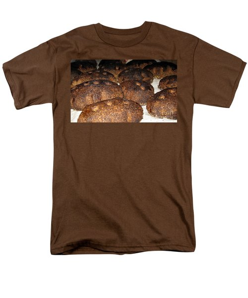 Homemade Lithuanian Rye Bread Men's T-Shirt  (Regular Fit) by Ausra Huntington nee Paulauskaite