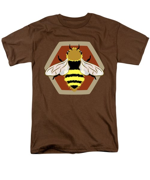 Honey Bee Graphic Men's T-Shirt  (Regular Fit) by MM Anderson