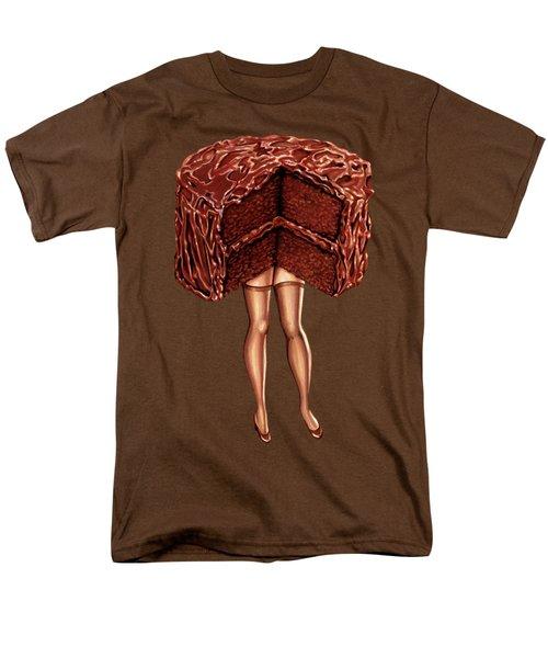 Hot Cakes - Devil's Food Men's T-Shirt  (Regular Fit) by Kelly Gilleran