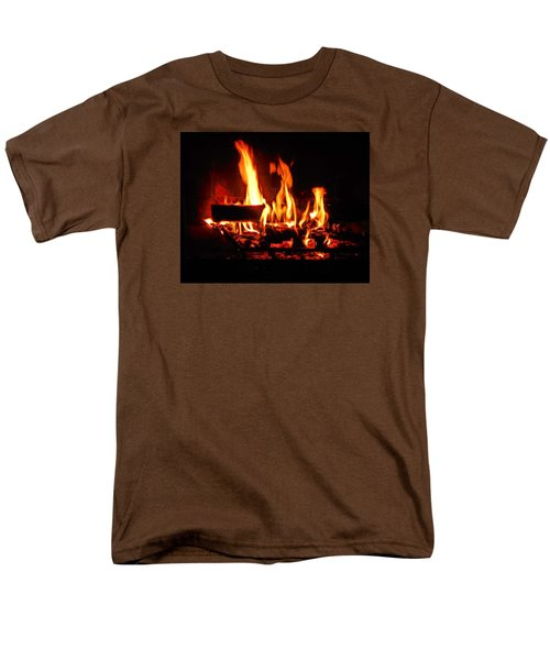 Hot Coals Men's T-Shirt  (Regular Fit) by Steve Godleski