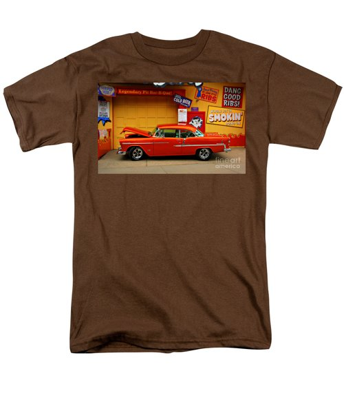 Hot Rod Bbq Men's T-Shirt  (Regular Fit) by Perry Webster
