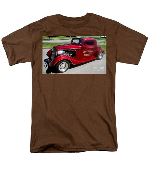 Hot Rod Chief Men's T-Shirt  (Regular Fit) by Kevin Fortier