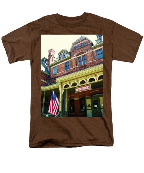 Hotel Florence Pullman National Monument Men's T-Shirt  (Regular Fit) by Kyle Hanson