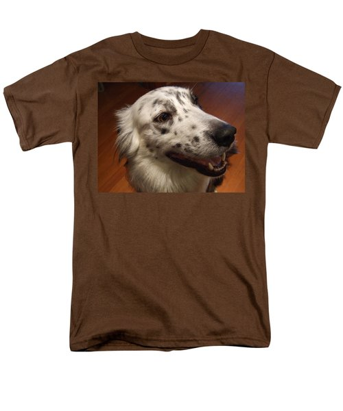 Men's T-Shirt  (Regular Fit) featuring the photograph 'houlie' by Mark Alan Perry
