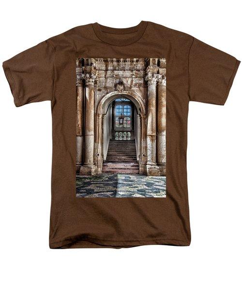 House Entrance Palermo  Men's T-Shirt  (Regular Fit) by Patrick Boening