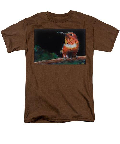 Hummingbird Men's T-Shirt  (Regular Fit) by Jean Cormier
