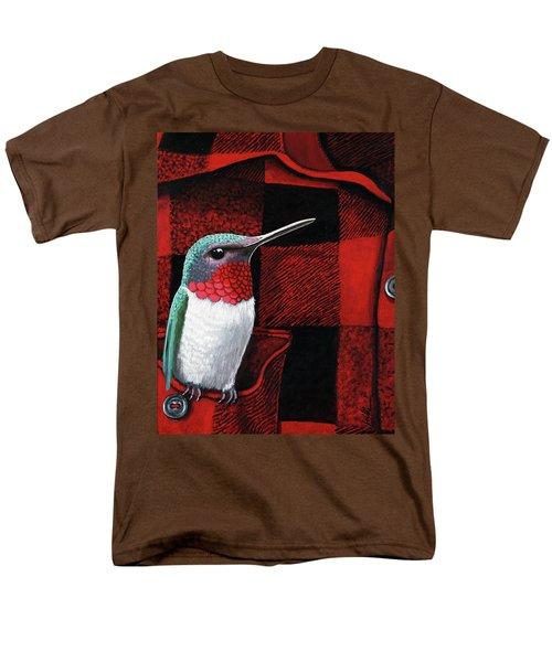 Hummingbird Memories Men's T-Shirt  (Regular Fit)