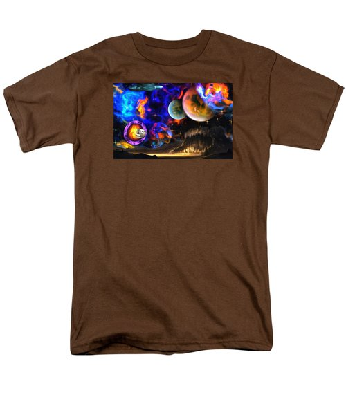 Hyperactivity Sector X66 In The Andromeda Gallaxy Men's T-Shirt  (Regular Fit) by Mario Carini