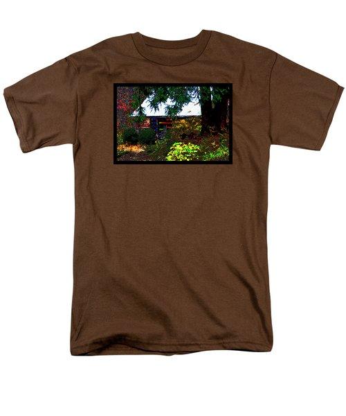 I Dreamt I Was A Cabin Men's T-Shirt  (Regular Fit) by Susanne Still
