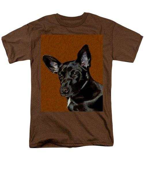 I Hear Ya - Dog Painting Men's T-Shirt  (Regular Fit) by Patricia Barmatz