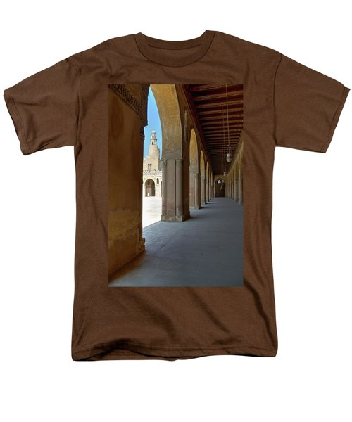 Ibn Tulun Great Mosque Men's T-Shirt  (Regular Fit) by Nigel Fletcher-Jones