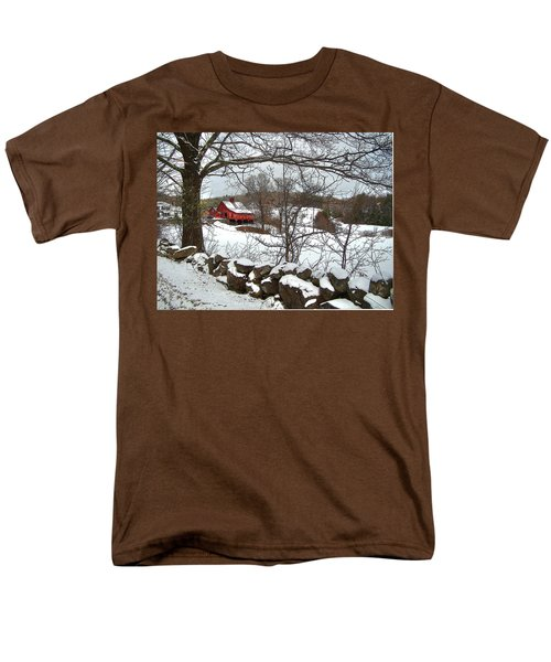 Iconic New Hampshire Men's T-Shirt  (Regular Fit) by Betsy Zimmerli