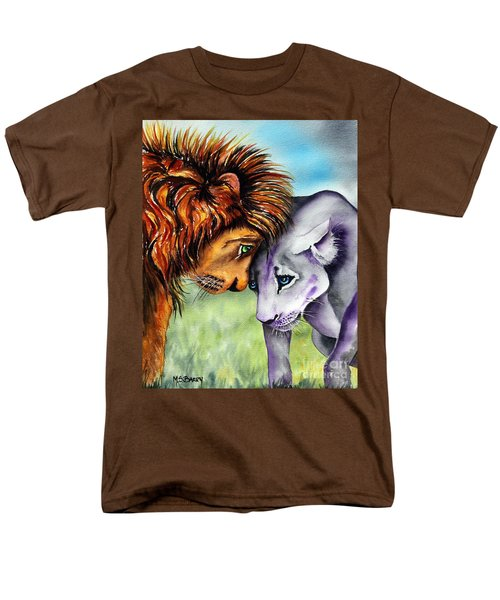 Men's T-Shirt  (Regular Fit) featuring the painting I'm In Love With You by Maria Barry