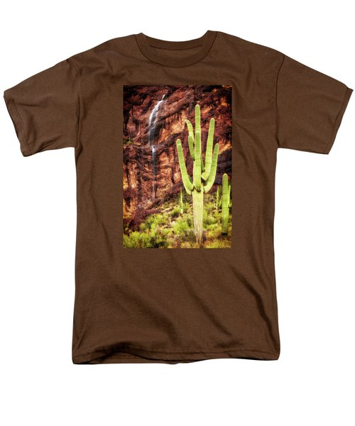 In A Dry And Thirsty Land Men's T-Shirt  (Regular Fit) by Rick Furmanek