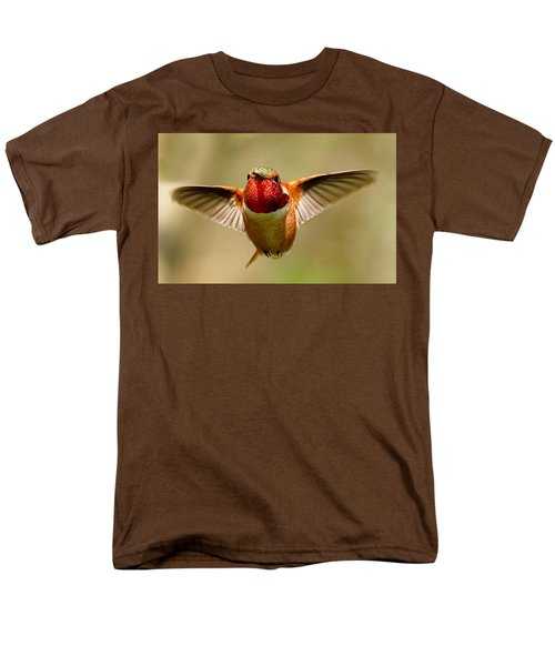 In Flight Men's T-Shirt  (Regular Fit) by Sheldon Bilsker