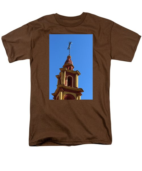 In Mexico Bell Tower Men's T-Shirt  (Regular Fit) by Cathy Anderson
