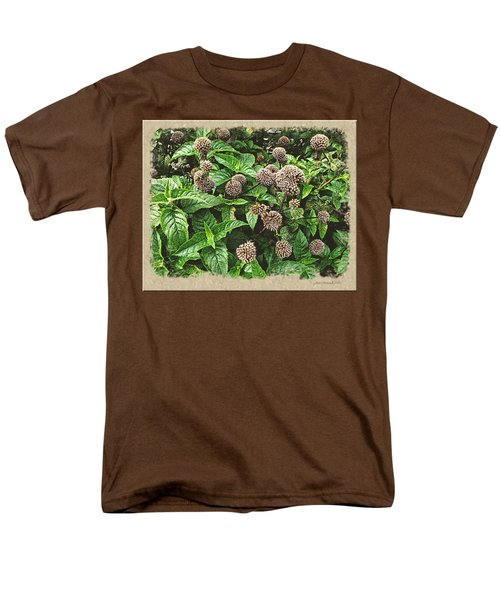 Men's T-Shirt  (Regular Fit) featuring the photograph In The Highline Garden by Joan  Minchak