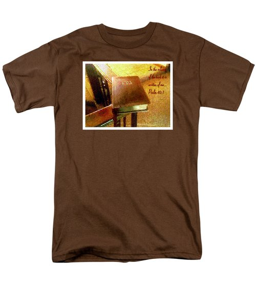 In The Volume Of The Book Men's T-Shirt  (Regular Fit) by Glenn McCarthy Art and Photography