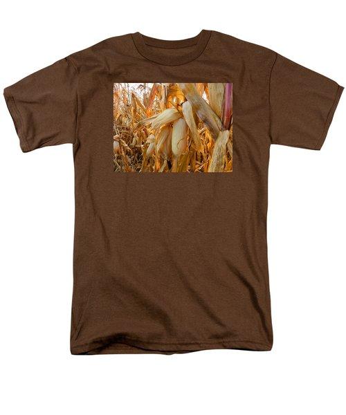 Indiana Corn 3 Men's T-Shirt  (Regular Fit) by Tina M Wenger