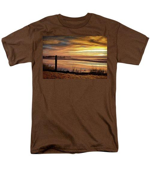 Inlet Watch At Dawn Men's T-Shirt  (Regular Fit) by Phil Mancuso