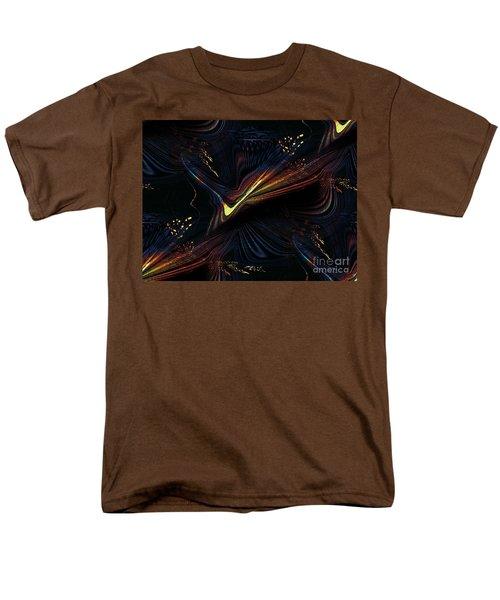Meditative Vision Men's T-Shirt  (Regular Fit) by Yul Olaivar