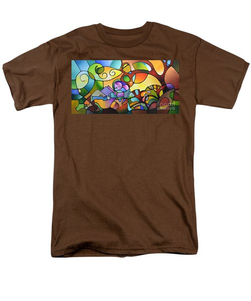 Into The Day Men's T-Shirt  (Regular Fit) by Sally Trace