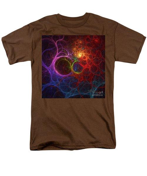 Men's T-Shirt  (Regular Fit) featuring the digital art Into The Light by Deborah Benoit