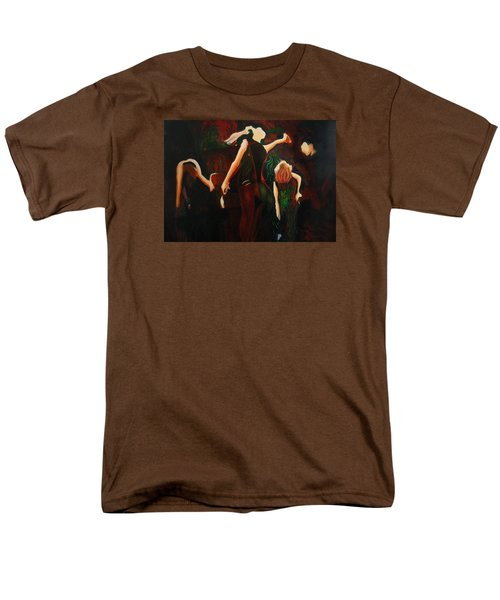 Men's T-Shirt  (Regular Fit) featuring the painting Intricate Moves by Georg Douglas
