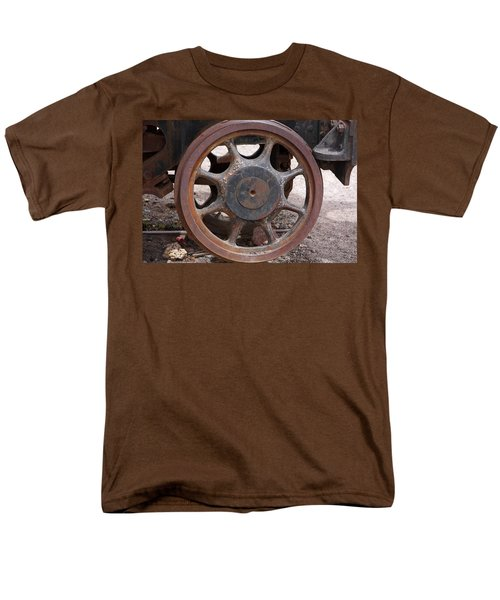 Iron Train Wheel Men's T-Shirt  (Regular Fit) by Aidan Moran