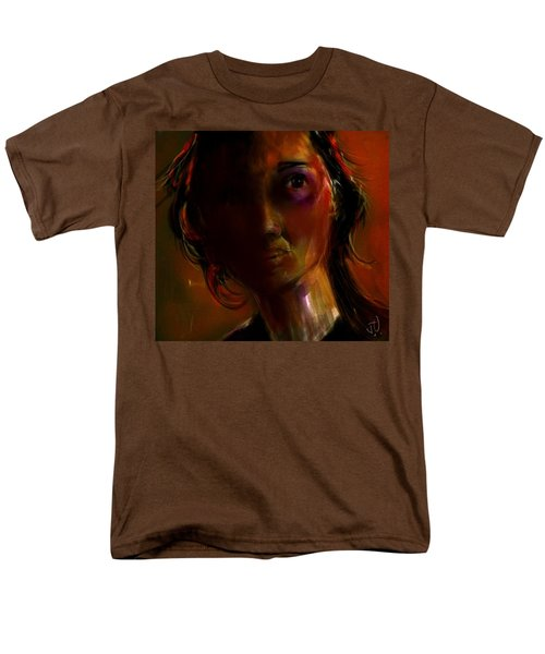 Men's T-Shirt  (Regular Fit) featuring the painting Isabella by Jim Vance