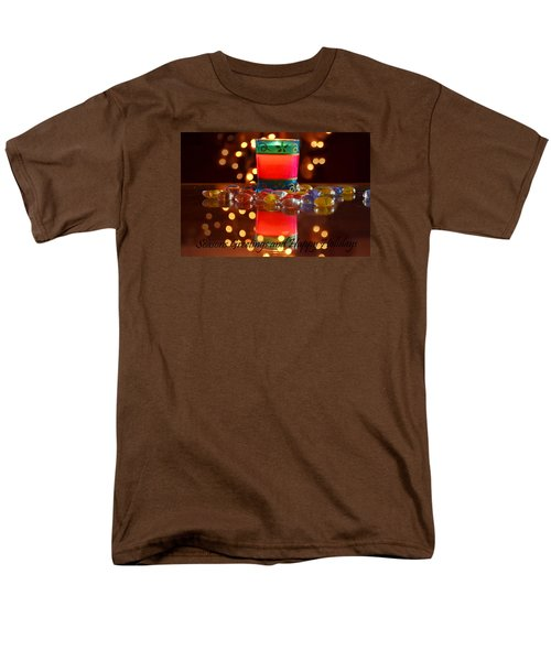 Men's T-Shirt  (Regular Fit) featuring the photograph It Feels Like Christmas by Rima Biswas