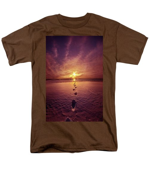 Men's T-Shirt  (Regular Fit) featuring the photograph It Is Then That I Carried You by Phil Koch