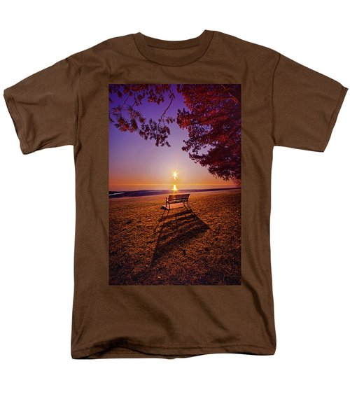 Men's T-Shirt  (Regular Fit) featuring the photograph It Is Words With You I Seek by Phil Koch