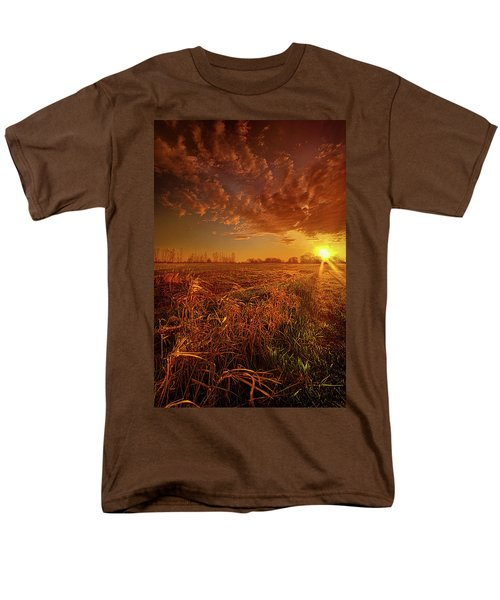 Men's T-Shirt  (Regular Fit) featuring the photograph It Just Is by Phil Koch