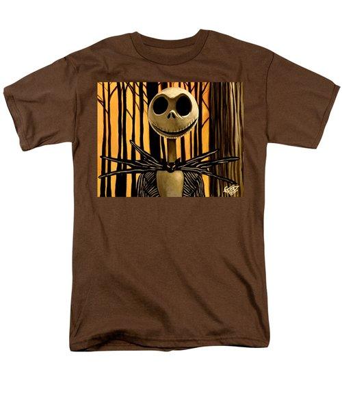 Jack Skelington Men's T-Shirt  (Regular Fit) by Tom Carlton