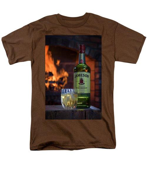 Jameson By The Fire Men's T-Shirt  (Regular Fit) by Rick Berk