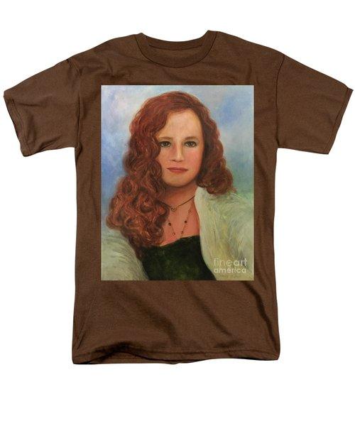Men's T-Shirt  (Regular Fit) featuring the painting Jennifer by Randol Burns