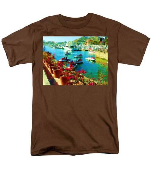 Jet Skis And Flowers Men's T-Shirt  (Regular Fit) by Gerhardt Isringhaus